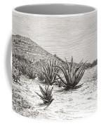 The Pyramid Of The Sun, Teotihuacan Coffee Mug