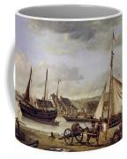 The Quay At Rouen Coffee Mug