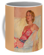 The Queen At Her Ease Coffee Mug