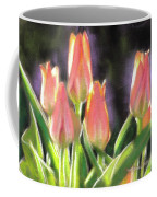 The Queen's Tulips Coffee Mug