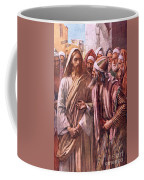 The Question Of The Sadducees Coffee Mug