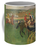 The Race Course Coffee Mug by Edgar Degas