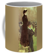 The Races At Auteuil Coffee Mug