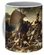The Raft Of The Medusa Coffee Mug by Theodore Gericault