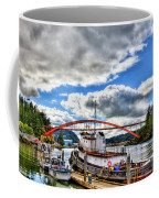 The Rainbow Bridge - Laconner Washington Coffee Mug