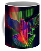 The Rainbow Dove  Coffee Mug