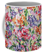 The Rainbow Flowers Coffee Mug