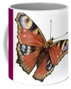 The Rainbow Of The Peacock Coffee Mug