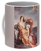 The Rape Of Europa 1639 Coffee Mug