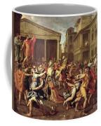 The Rape Of The Sabines Coffee Mug