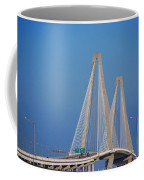 The Ravanel Bridge In Charleston Coffee Mug