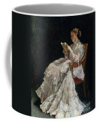 The Reader Coffee Mug by Alfred Emile Stevens