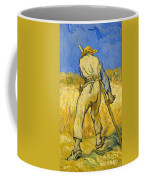 The Reaper Coffee Mug by Vincent van Gogh
