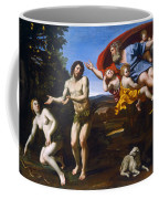 The Rebuke Of Adam And Eve Coffee Mug