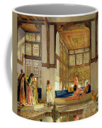 The Reception Coffee Mug by John Frederick Lewis