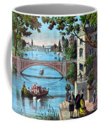 The Reception Of Benjamin Franklin In France Coffee Mug by War Is Hell Store