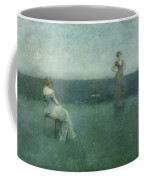 The Recitation Coffee Mug by Thomas Wilmer Dewing