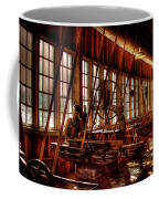 The Red Barn Of The Boeing Company Iv Coffee Mug by David Patterson