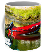 The Red Boat Coffee Mug