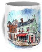 The Red Boat In Beaumaris Coffee Mug