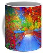 The Red Bridge In Autumn Coffee Mug