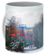 The Red Chairlift Coffee Mug