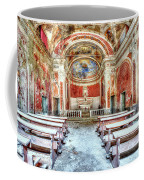 The Red Church Coffee Mug by Enrico Pelos