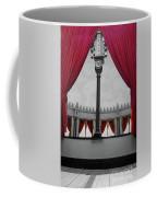 The Red Curtain Coffee Mug