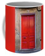 The Red Door. Coffee Mug