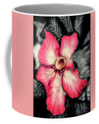 The Red Flower Coffee Mug by Darren Cannell