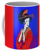 The Red Geisha Coffee Mug