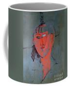 The Red Head Coffee Mug by Amedeo Modigliani
