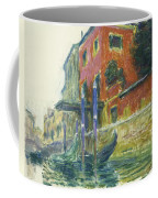 The Red House Coffee Mug by Claude Monet