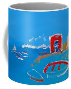 The Red House  La Casa Roja Coffee Mug