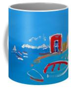 The Red House  La Casa Roja Coffee Mug