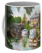 The Red Lion Inn By The Riverbank Coffee Mug