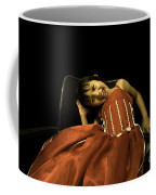 The Red Party Dress Coffee Mug