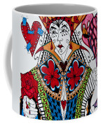 The Red Queen Coffee Mug by Jani Freimann