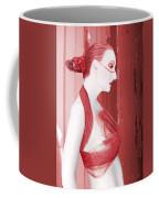 The Red Stripe - Self Portrait Coffee Mug