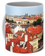 The Red Tile Roofs Of Prague Coffee Mug