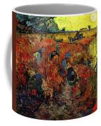 The Red Vineyard At Arles Coffee Mug