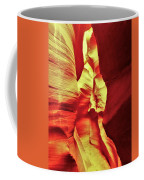 The Reddish Yellow Path Coffee Mug