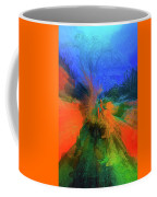 The Reef In Watercolor Abstract Coffee Mug