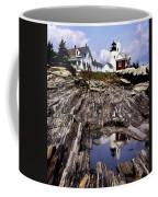 The Reflection At Pemaquid Coffee Mug