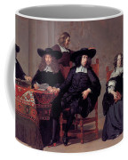 The Regents Of The Old Men And Women Hospital In Amsterdam Coffee Mug