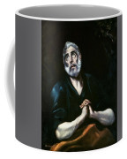 The Repentant Peter El Greco Coffee Mug