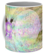 The Resurrection Horizon Event-no Rock Could Hold Him In Garden Tomb Vision Jerusalem 2008 Coffee Mug