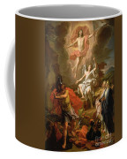 The Resurrection Of Christ Coffee Mug by Noel Coypel
