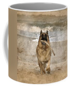 The Retrieve Coffee Mug by Angie Tirado