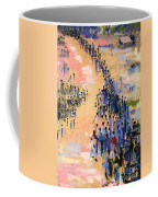 The Return Coffee Mug by Bayo Iribhogbe